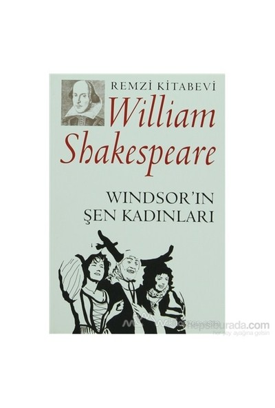 Windsorun Şen Kadınları-William Shakespeare