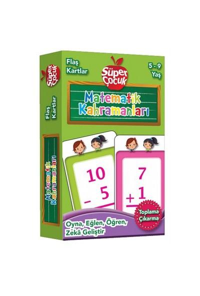 Flaş Kartlar: Matematik Kahmanları (Toplama - Çıkarma) Oyna - Eğlen - Öğren - Zeka Geliştir (Süper Ç-Kolektif