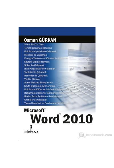 Microsoft Word 2010 - Osman Gürkan
