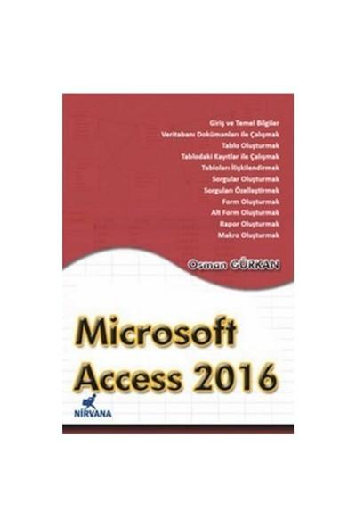 Microsoft Access 2016 - Osman Gürkan