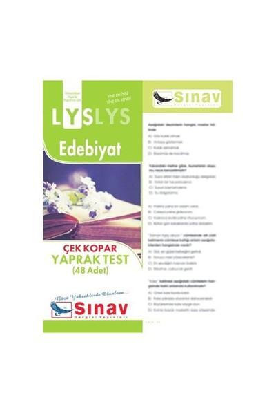 Sınav Dergisi Yayınları Lys 2016 Edebiyat Yaprak Test (48 Test)-Kolektif