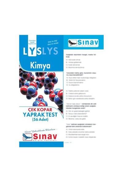 Sınav Dergisi Yayınları Lys 2016 Kimya Yaprak Test (56 Test)-Kolektif