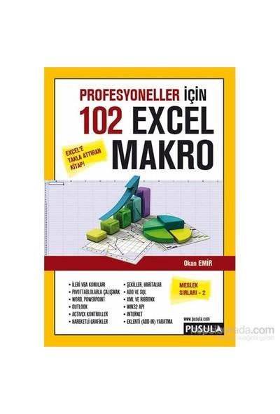 Profesyoneller için 102 Örnekle Excel Makro (Meslek Sırları 2) - Okan Emir