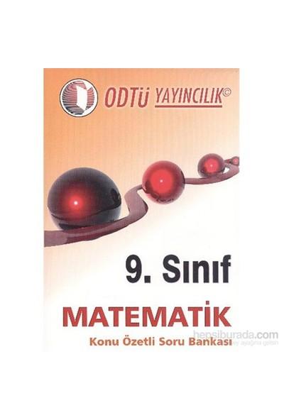 Odtü 9. Sınıf Matematik Konu Özetli Soru Bankası-Kolektif