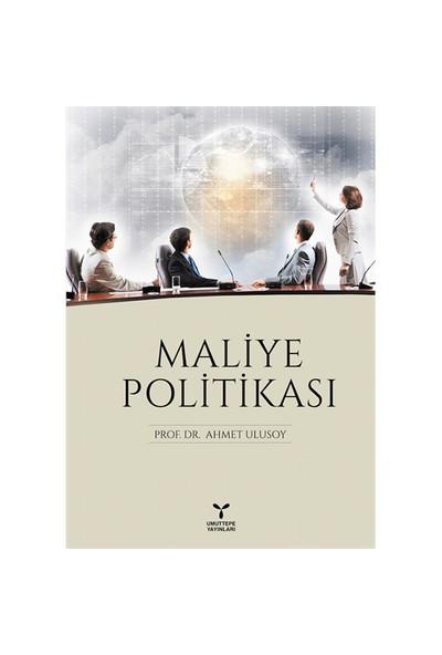 Maliye Politikası-Ahmet Ulusoy