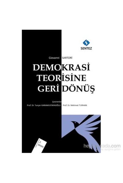Demokrasi Teorisine Geri Dönüş-Giovanni Sartori