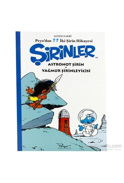 Astronot Şirin Hikaye Kitabı