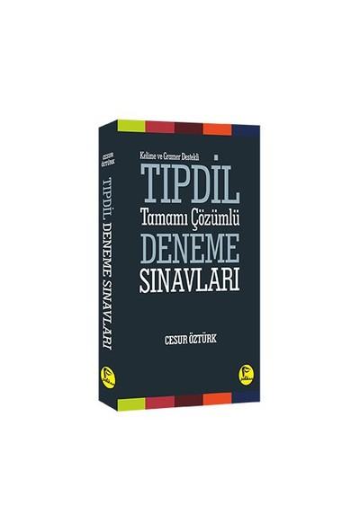 Pelikan Yayınları Kelime Ve Gramer Konu Anlatımı Destekli Tıpdil Tamamı Çözümlü Deneme Sınavları - Cesur Öztürk