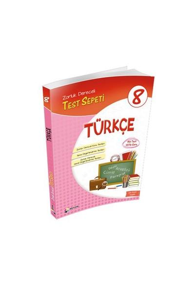 8.Sınıf Türkçe Test Sepeti / Dörtrenk Yay.