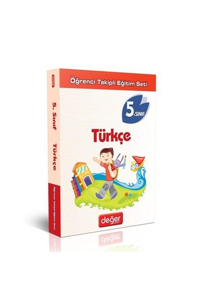5 Sınıf Türkçe Fasikül Set Değer Yay