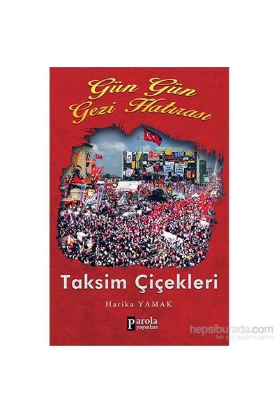 Gün Gün Gezi Hatırası Taksim Çiçekleri-Harika Yamak