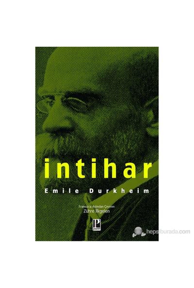İntihar-Emile Durkheim