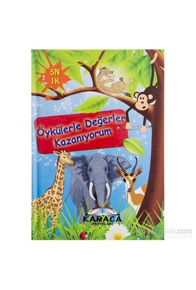 Karaca Öykülerle Degerler Eğitici Kitap-Kolektif
