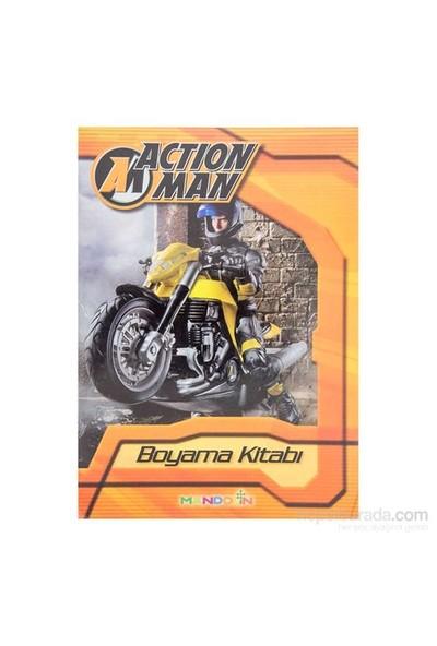 Action Man Boyama Kitabi-Kolektif