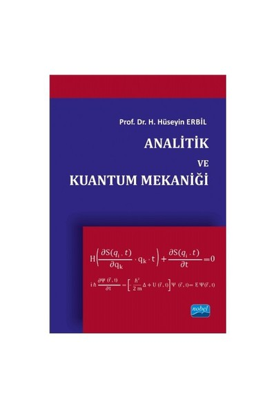 Analitik Ve Kuantum Mekaniği-Hüseyin Erbil