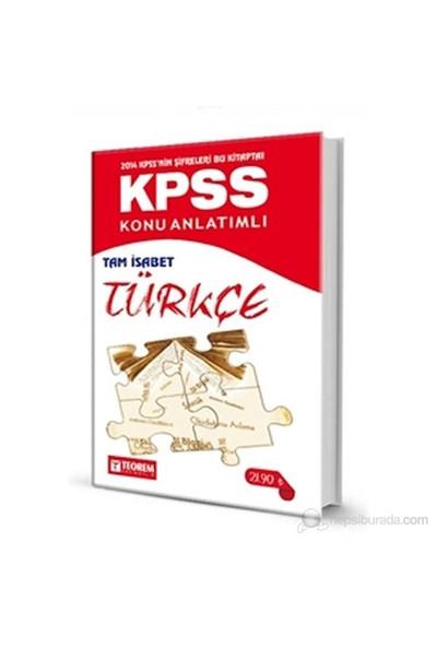 Teorem Kpss 2014 Konu Anlatımlı Tam İsabet Türkçe Soru Bankası-Harun Kandemir