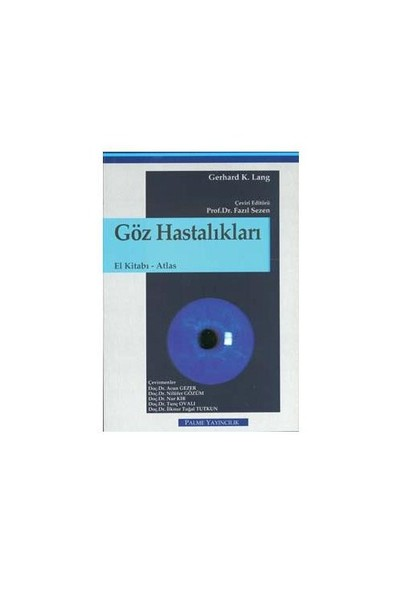 Göz Hastalıkları El Kitabı Atlası
