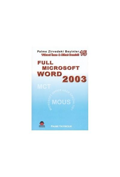 Full Microsoft Word 2003