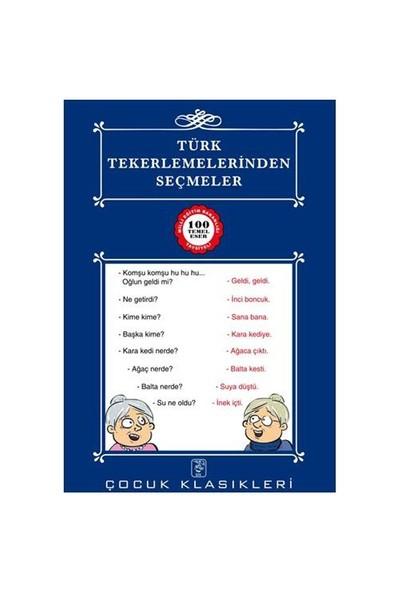 Türk Tekerlemelerinden Seçmeler - 100 Temel Eser