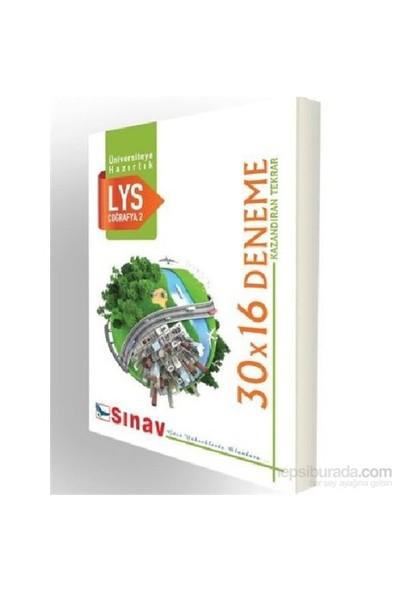 Sınav Lys Coğrafya 2 30X14 Deneme-Kolektif