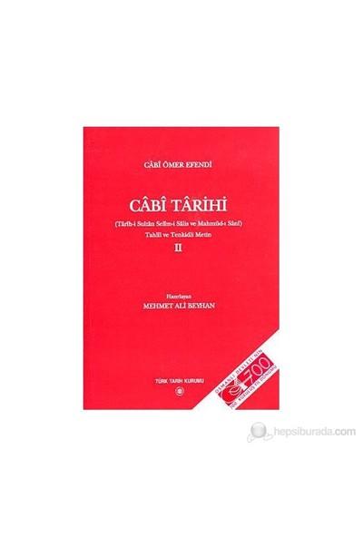 Cabi Tarihi 2-Mehmet Ali Beyhan