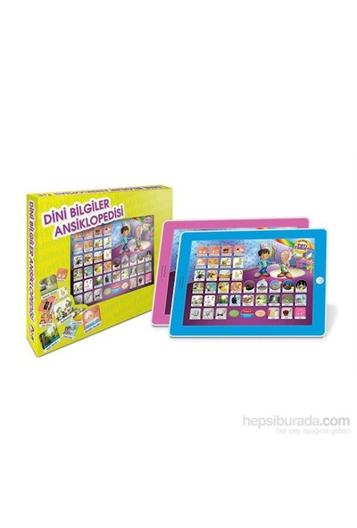 Pati Dini Bilgiler Büyük Boy Oyuncak Eğitim Tablet