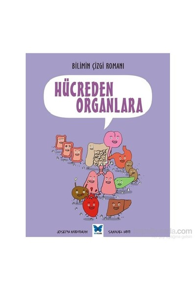 Bilimin Çizgi Romanı Hücreden Organlara-Joseph Midthun