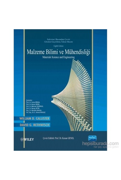 Malzeme Bilimi Ve Mühendisliği / Materials Science And Engineering - Wiley