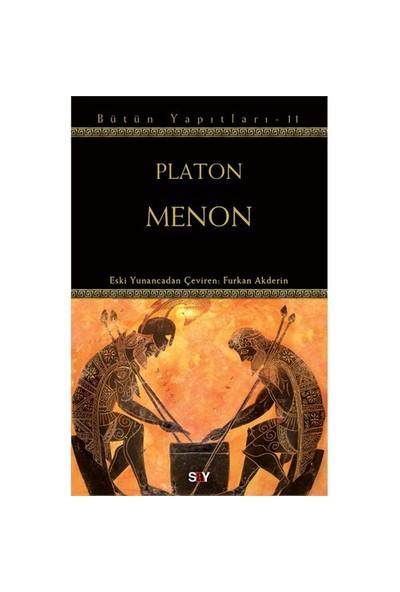 Menon - (Platon Bütün Yapıtları - 11) - Platon (Eflatun)