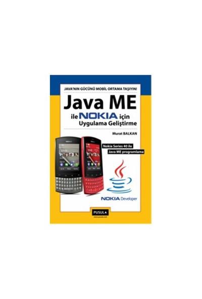 Java ME ile Nokia için Uygulama Geliştirme - Murat Balkan