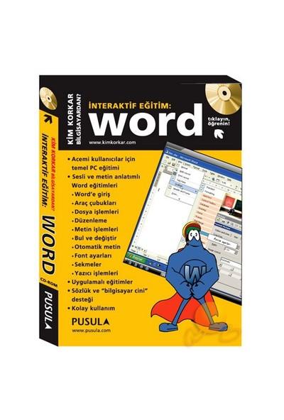 İnteraktif Eğitim Cd-Rom Word