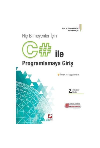 C# İle Programlamaya Giriş