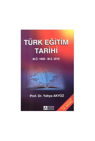 Türk Eğitim Tarihi - Yahya Akyüz
