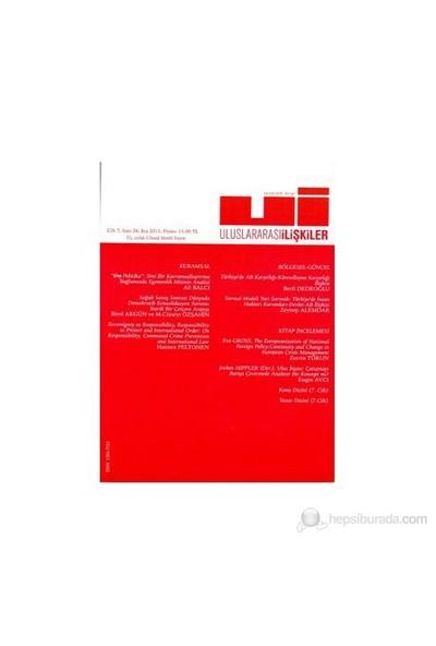 Uluslararası İlişkiler Dergisi Sayı: 28