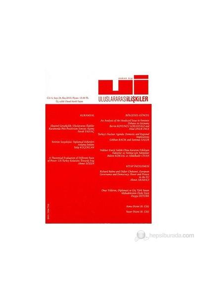 Uluslararası İlişkiler Dergisi Sayı: 24