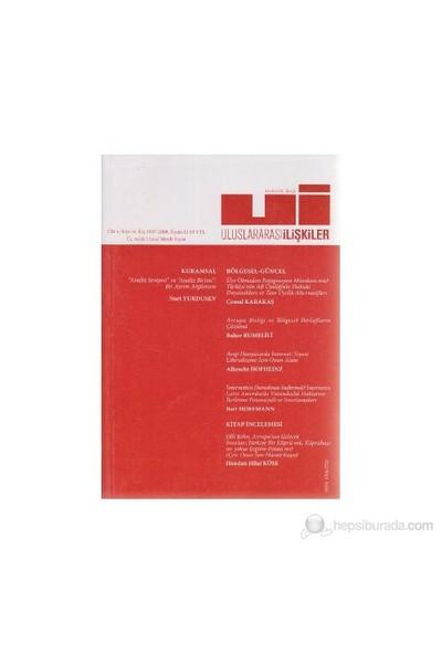 Uluslararası İlişkiler Dergisi Sayı: 16