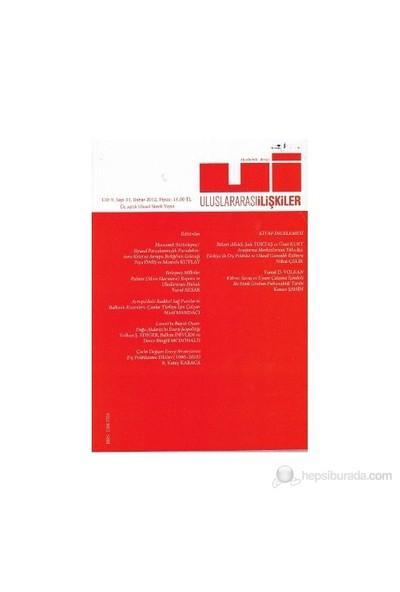 Uluslararası İlişkiler Dergisi Cilt: 9 Sayı: 33