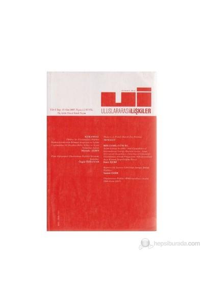 Uluslararası İlişkiler Dergisi Sayı: 15