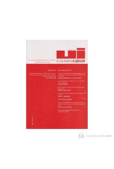 Uluslararası İlişkiler Dergisi Sayı: 11
