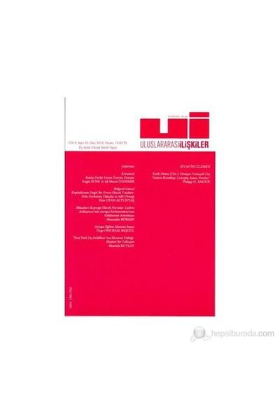 Uluslararası İlişkiler Dergisi Cilt: 9 Sayı: 35