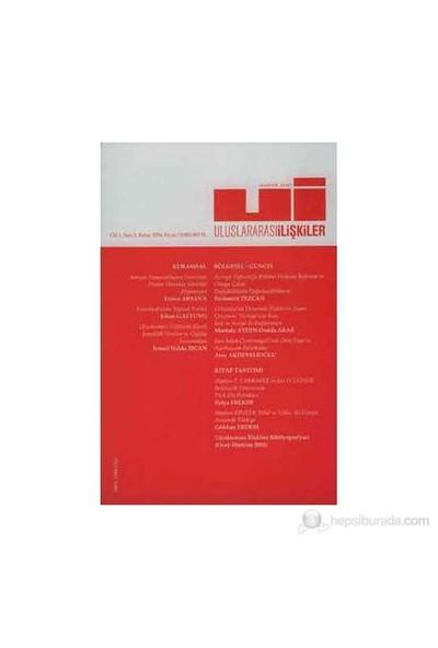 Uluslararası İlişkiler Dergisi Sayı: 2