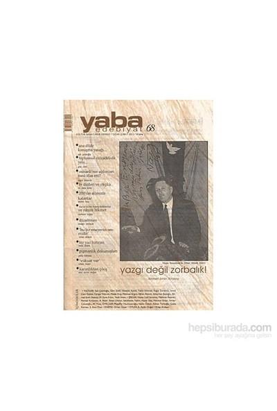 Yaba Edebiyat Dergisi Sayı: 68-Kolektif