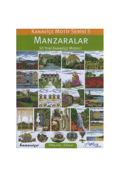 Kanaviçe Motif Serisi - Manzaralar - Maria Diaz