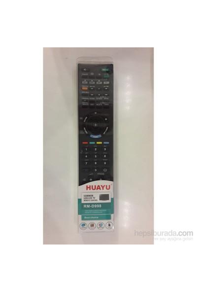 HUAYU LED/LCD TV'LER İÇİN UZAKTAN KUMANDA SONY MARKA UYUMLU + PİL HEDİYELİ