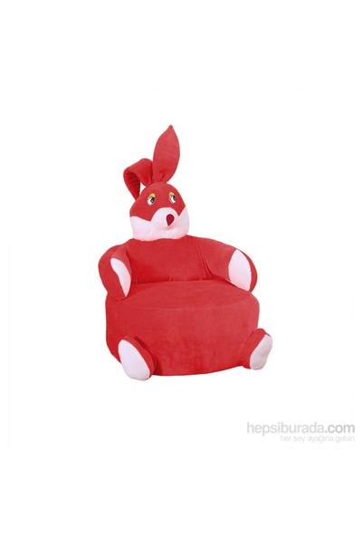 Bemenya Kırmızı Tavşan Çocuk Koltuğu