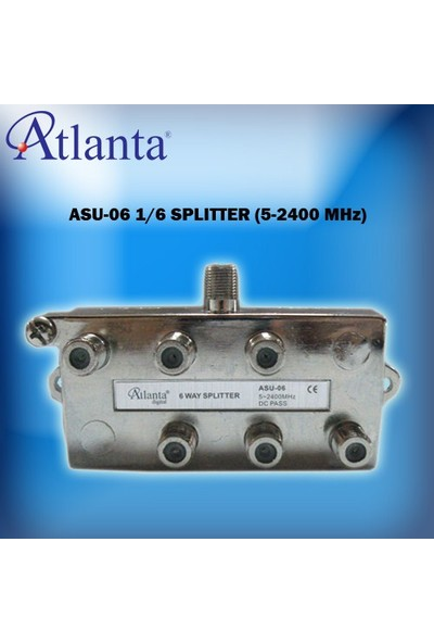 Atlanta ASU-06 1/6 Uydu Bölücü (5-2400 MHz)