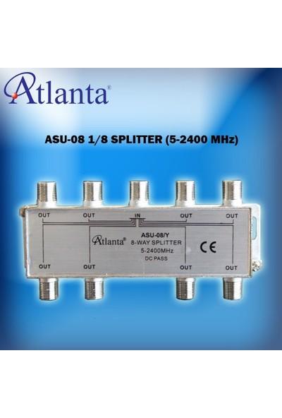 Atlanta ASU-08 1/8 Uydu Bölücü (5-2400 MHz)