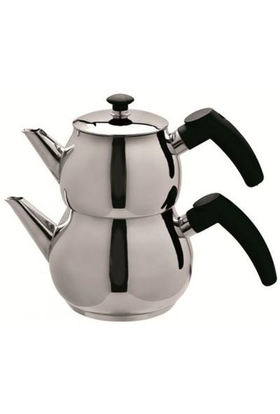 Cooker Küre Aile Boy Çaydanlık Takımı