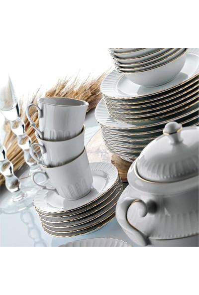 Kütahya Porselen Sedef 12 Parça 6 Kişilik Kahve Takımı