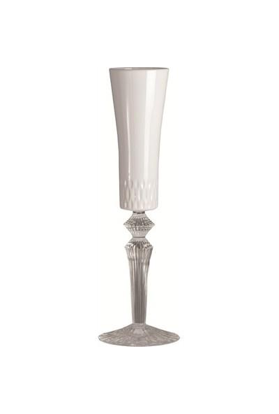 I Love Home Şampanya Bardağı Beyaz Pleksi